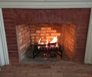 Newly repaired firebox
